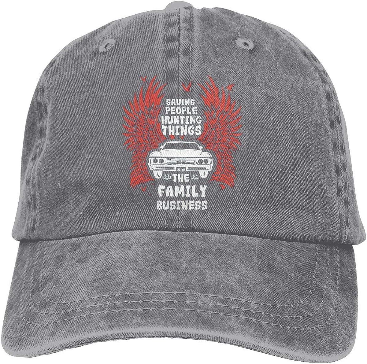 Supernatural Baseball Cap, Adjustable Size Dad Hat, Vintage Baseball Hats for Men Woman