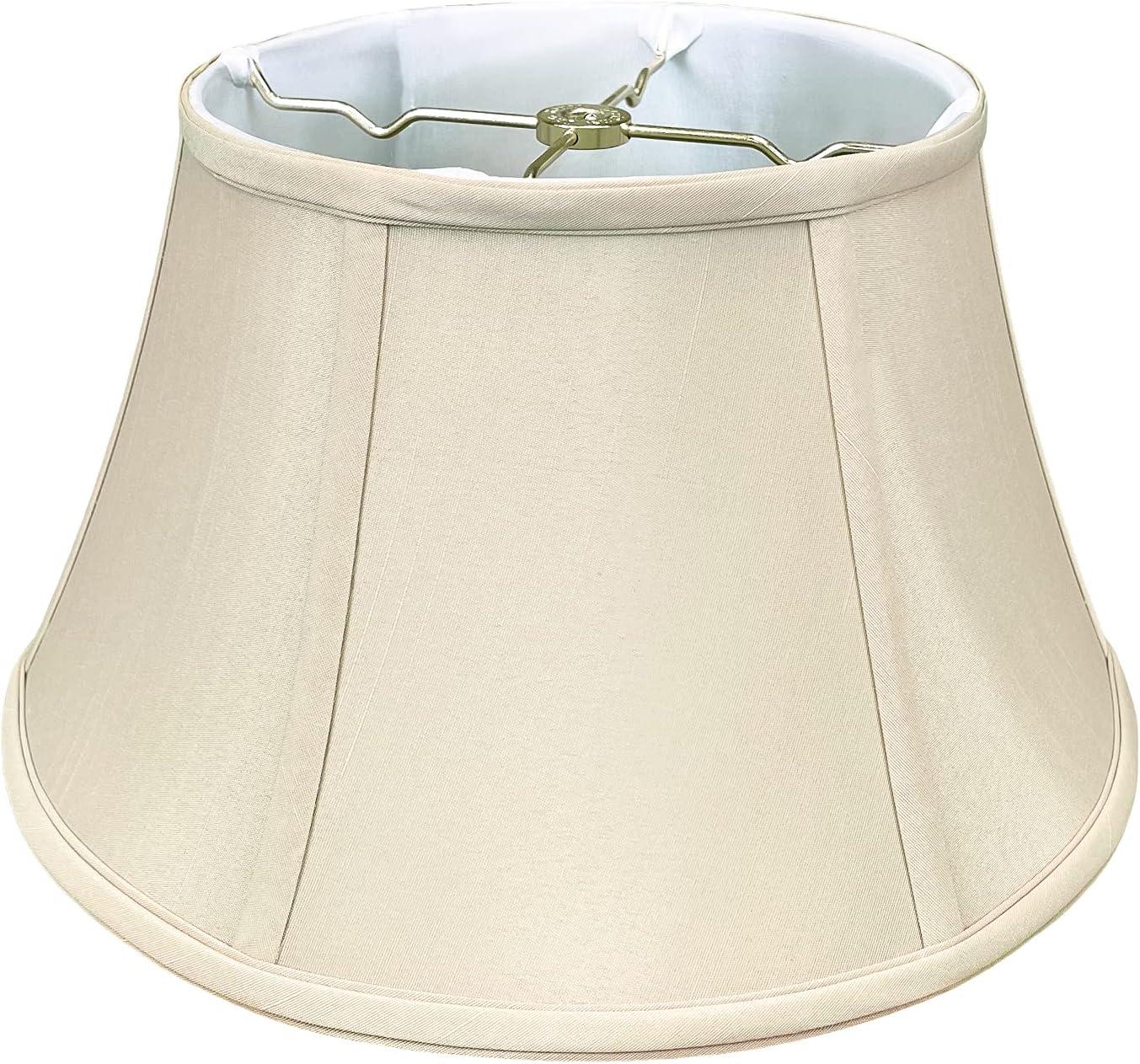 El Paso Mall Royal Designs BS-711-17BG Shallow Drum Lamp Attention brand Billiotte Bell Shade