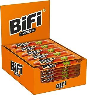 Bifi Original – herzhafter Salami Fleischsnack – geräucherte Mini Wurst als Snack To Go – Multipack, 40er Pack 40 x 22,5 g