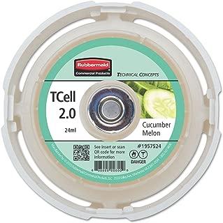TC TCell 2.0 Air Freshener Refill, Cucumber Melon, 24 mL Cartridge, 6/Carton