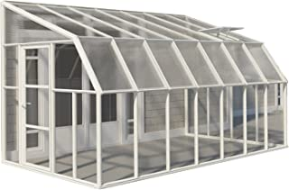 prefab lean to greenhouse