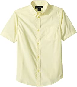 Short Sleeve Oxford Shirt (Big Kids)