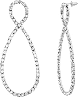 Steve Madden Women's Earrings - SME509826RH, Silver