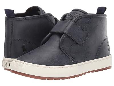 Polo Ralph Lauren Kids Chett EZ (Little Kid) (Navy Burnished) Kids Shoes