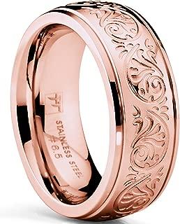 pink wedding ring