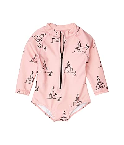 TINY TRIBE Beach All-In-One Rashie (Infant) (Pink) Girl