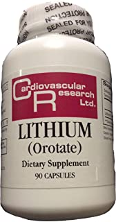 Cardiovascular Research Lithium Orotate - 90 Capsules