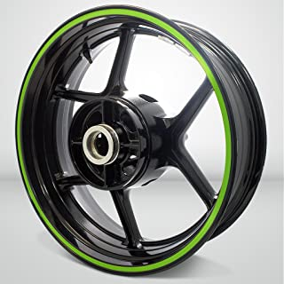 Thick Outer Rim Liner Stripe for Yamaha FZR 600 Matte Green