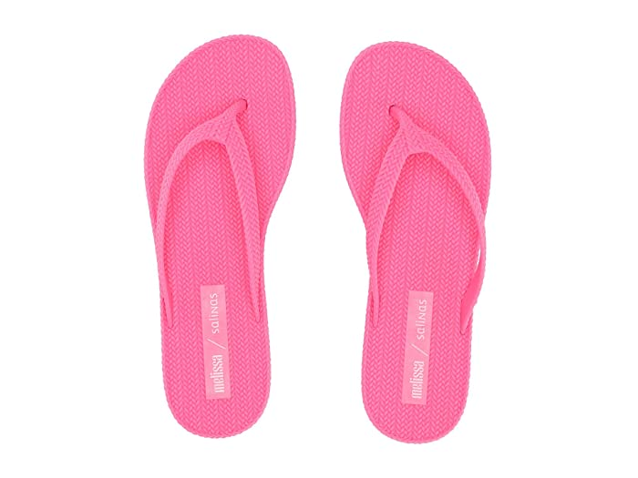 x Salinas Braided Summer Flip Flop Bright Pink