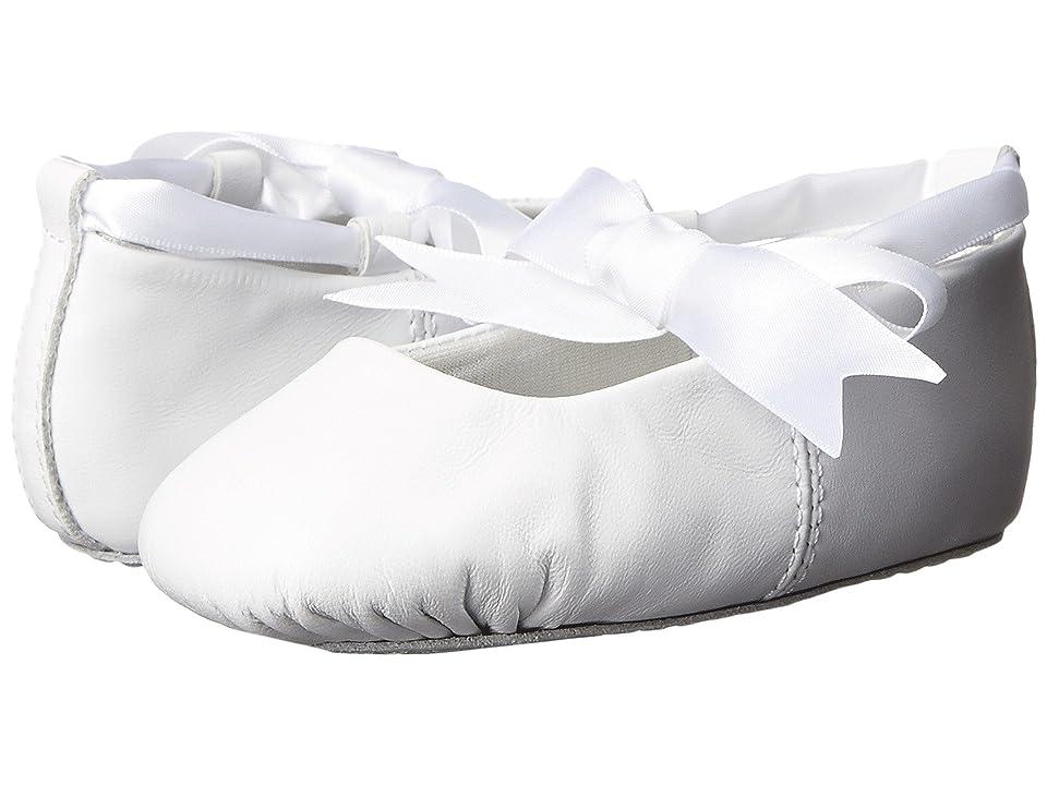 Baby Deer Sabrina Ballet (Toddler/Little Kid) (White Leather) Girls Shoes