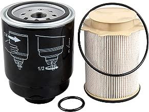 Auto Safety 6.7L Cummins Fuel Filter Water Separator set for Dodge Ram 2500 3500 4500 5500 6.7L Cummins Turbo Diesel Engines 68197867AA 68157291AA
