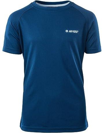 McKinley Kinder Wandershirt Freizeit-Funktions-T-Shirt Zorra jrs blau