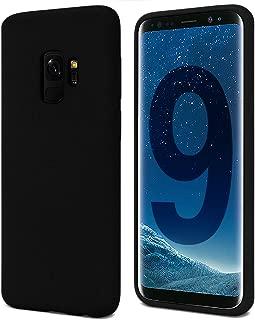 Goospery Soft Feeling Jelly for Samsung Galaxy S9 Case (2018) Silky Slim Bumper Cover (Black) S9-SFJEL-BLK