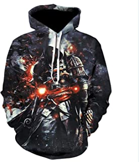 Harajuku Assassins Creed Game Hooded Pullover Hoodies Unisex 3D Print