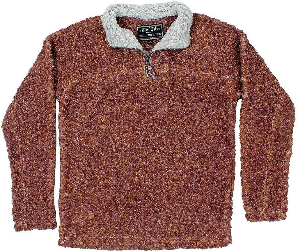 True Grit Texture Sherpa 1/4 Zip Pullover