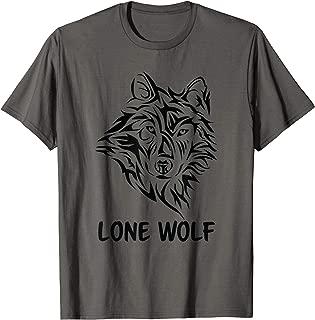 Lone Wolf Tribal Northern Men Women Boys Kids T-Shirt