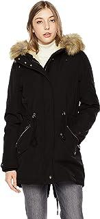 Sponsored Ad - Royal Matrix Women's Hooded Warm Winter Parka Coat Waterproof Faux Fur Lined Jacket