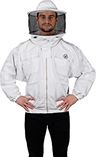 Humble Bee 310 Polycotton Beekeeping Jacket with Round Veil