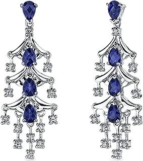 Best sapphire chandelier earrings Reviews