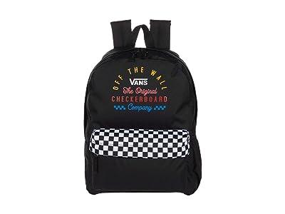Vans Street Sport Realm Backpack (Black/Black) Backpack Bags