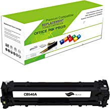 Replacement Toner Cartridge for CB540A(Universal with CF210X/CE320A/Cartridge 116K/Cartridge 131IIK) – Remanufactured Standard Yield Laser Printer Cartridge for Canon, HP