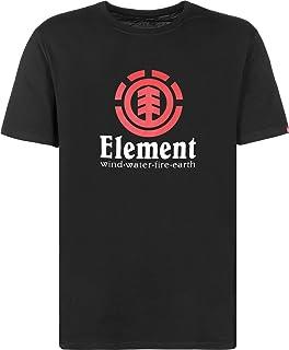 Element T-Shirt Flint Vertical SS BK