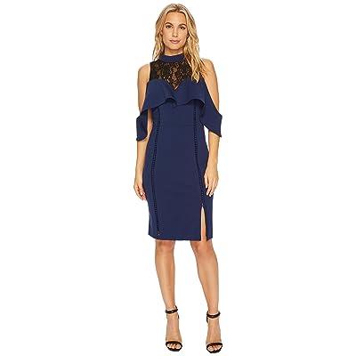 Adelyn Rae Hadyn Sheath Dress (Navy) Women