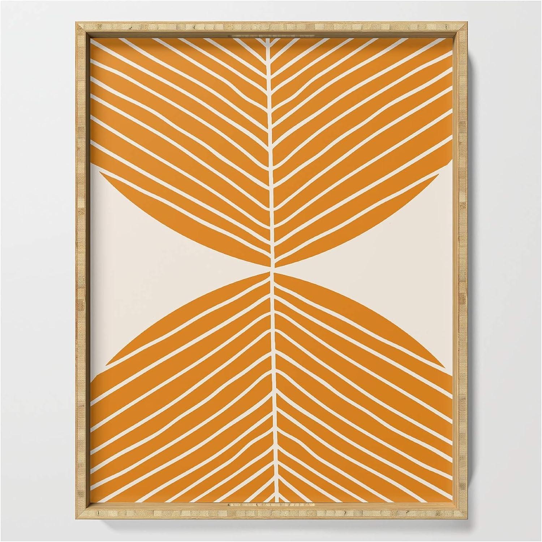 Minimal Fall Leaf Gold by Anutu Design Studio Home Living on Elegant Limited price And