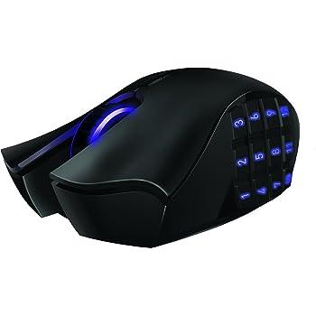 Razer Naga Epic Rechargable Wireless MMO PC Gaming Mouse