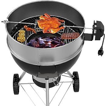 Rôtisserie pour barbecue Ø 55cm x H 15cm Broche Support pour barbecue boule