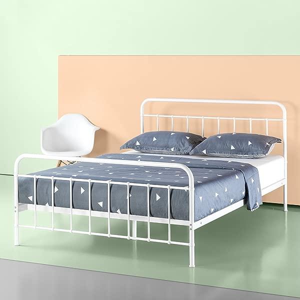 Zinus Florence Metal Platform Bed Frame Mattress Foundation No Box Spring Needed Full