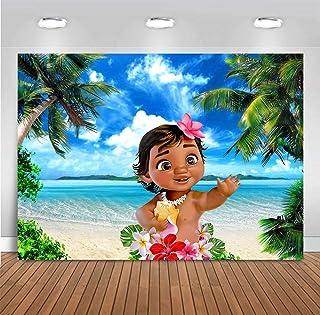 2019118 Hintergrund, Tropische Moana, 5x3ft