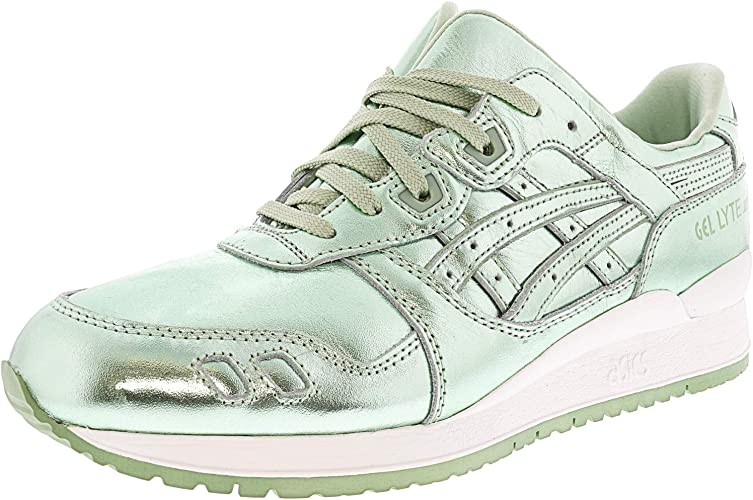 ASICS femmes Gel-Lyte Iii Faible Top Lace Up Tennis chaussures, vert vert, Taille 10.0