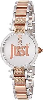 Just Cavalli Womens Quartz Watch, Analog-Digital Display and Stainless Steel Strap, JC1L076M0115