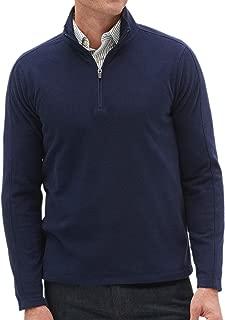 Banana Republic Ultrawarm Micro Fleece Half Zip Pullover Sweater Preppy Navy Blue