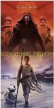 Unique Party 72202 - Star Wars 7 Door Poster, 5ft x 2.5ft