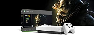 2019 Microsoft Xbox One X Robot White Special Edition 1TB Console (4K Ultra HD Blu-ray) With Wireless Controller And Fallout 76 Game Bundle