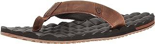 Men's Recliner Leather Flip Flop Sandal