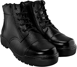 Blinder Men's Black Boots On Amazon.in