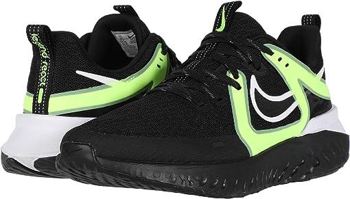 Black/Black/White/Ghost Green