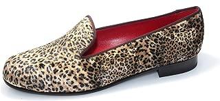 SMYTHE & DIGBY Women's Leopard Slippers (6.5)