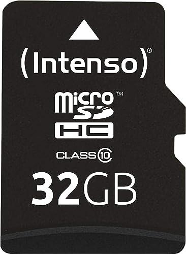 Intenso 3413480 Carte mémoire micro SDHC 32 Go Classe 10