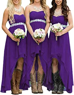 Amazon Com Purples Wedding Dresses Dresses Clothing Shoes Jewelry,Formal Summer Beach Wedding Guest Dresses