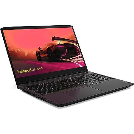 """Lenovo IdeaPad Gaming 3 15 15.6"""" Laptop, 15.6"""" FHD (1920 x 1080) Display, AMD Ryzen 5 5600H Processor, NVIDIA GeForce GTX 1650, 8GB DDR4 RAM, 256GB SSD Storage, Windows 10H, 82K20015US, Shadow Black"""