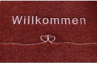 Majo Lifestyle deurmat - Premium robuuste anti-slip deurmat voor buiten / binnen - 40x60 cm - zachte schoenmat - polyester...