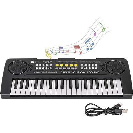 Shayson Teclado Electrónico Piano 37 Teclas,Teclado de Piano ...