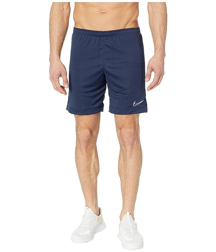 Nike Dry Academy Shorts K (Obsidian/Obsidian/White) Men