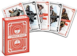 Dark Horse Deluxe The Umbrella Academy Playing Cards, Multicolor