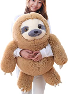 Winsterch Giant Sloth Stuffed Animal Toy, Large Plush Sloth Gifts Baby Dolls Kids Birthday Gifts,Big Sloth Toy,27.5 inches