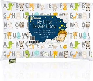 Almohada para bebé con funda de almohada - 13 x 18 suave al